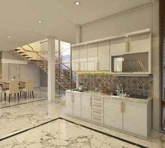 Desain Interior Kitchenset Rumah